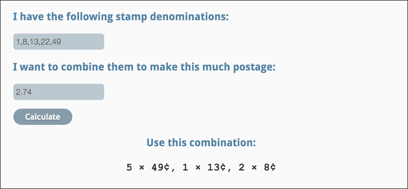 postage optimizer and rate table generator – collectpostmarks