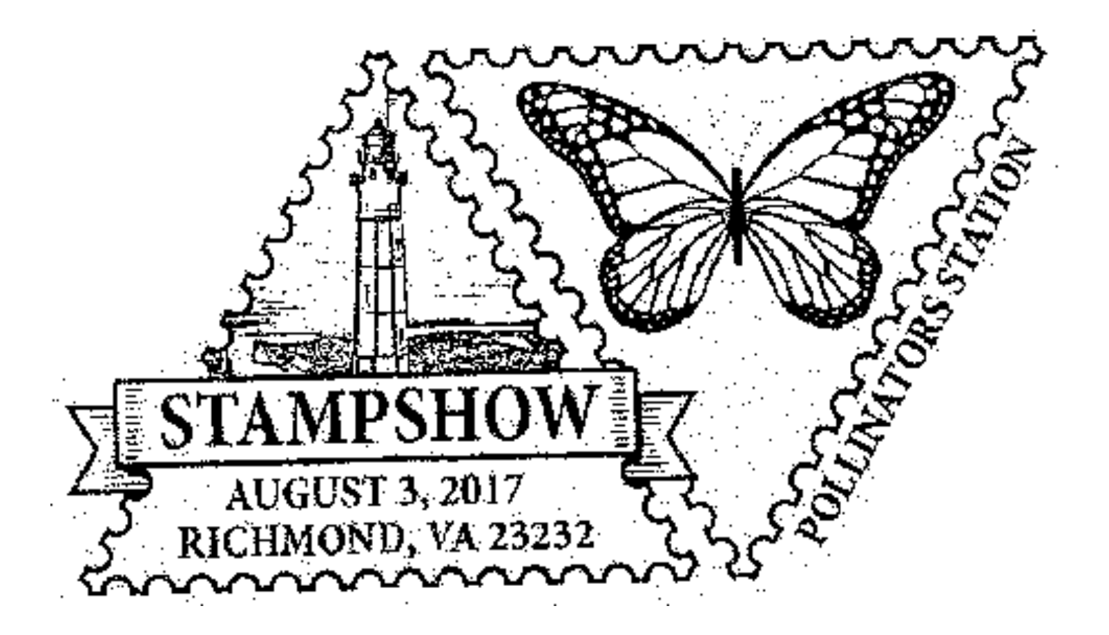 American Philatelic Society Pollinator Station, Richmond